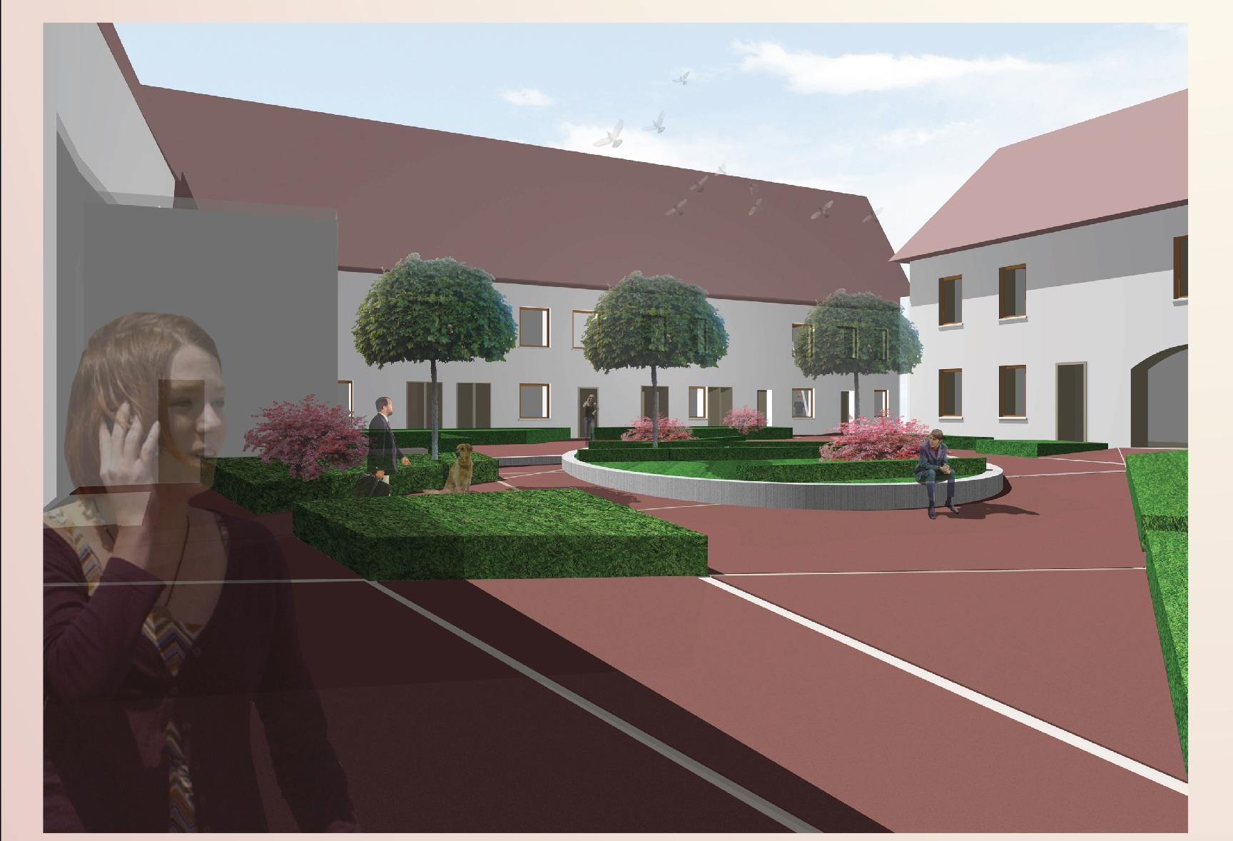 Visualisierung Innenhof