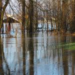 überschwemmt