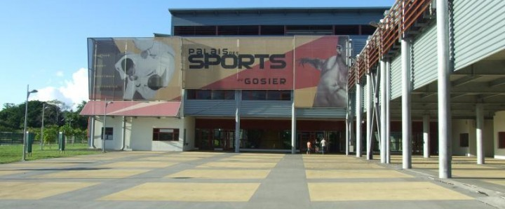GOSIER - INAUGURATION DU PALAIS DES SPORTS