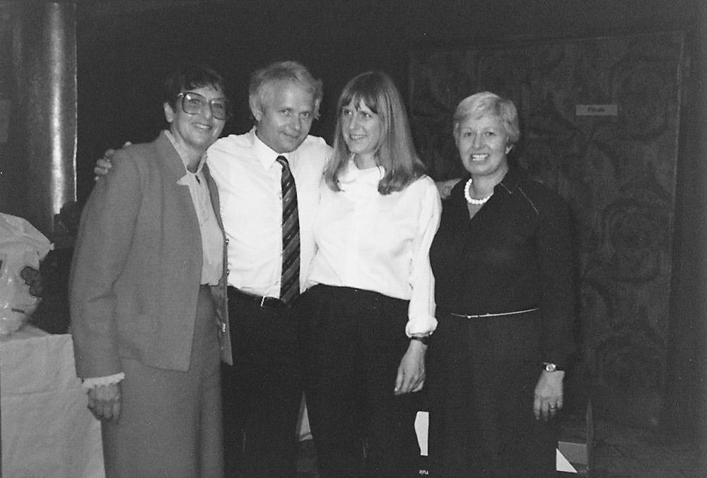 Hubert and Doris Rüther (center) at German fair