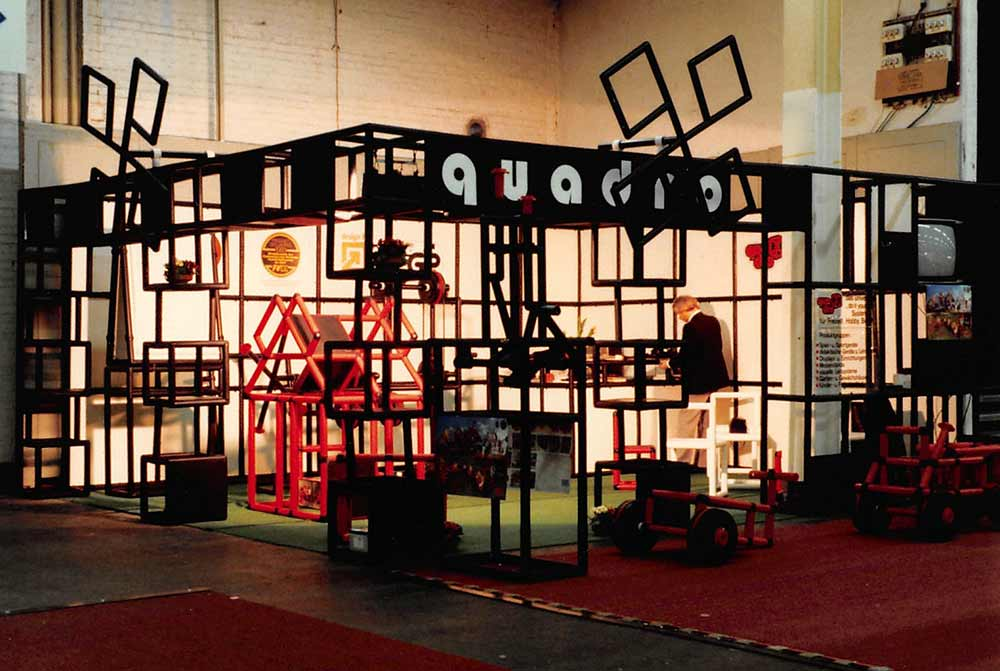 QUADRO stand at German toy trade fair