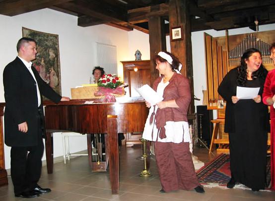 concert de fin de stage, Moulin de Grouches, Pranahvital