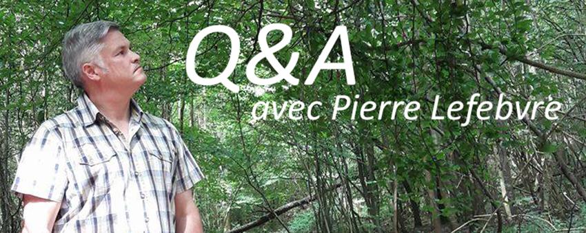 Institut PranaHvital - Blog - Questions à Pierre Lefebvre