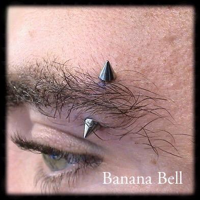 Bijou Piques Piercing sourcil