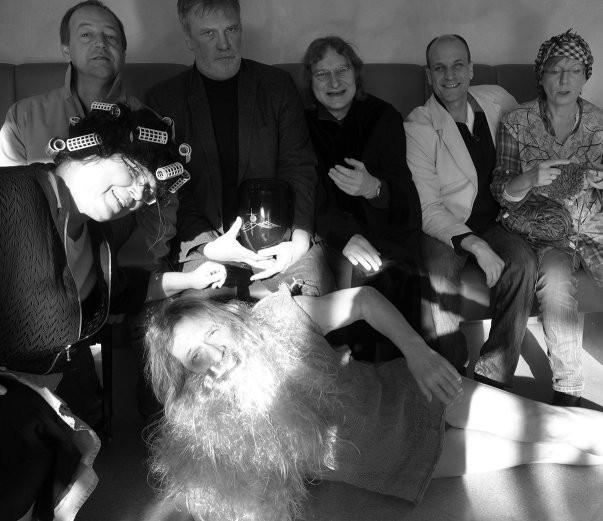 v.l.n.r.: Susanne Buhl, Andreas-Freitag-Bökkerink, Rüdiger Westermann, Flidt Wenning, André Blanke, Karin Bökkerink, vorne: Helmut Strohmeyer, es fehlen Marius Rasche und Ruth Wilde