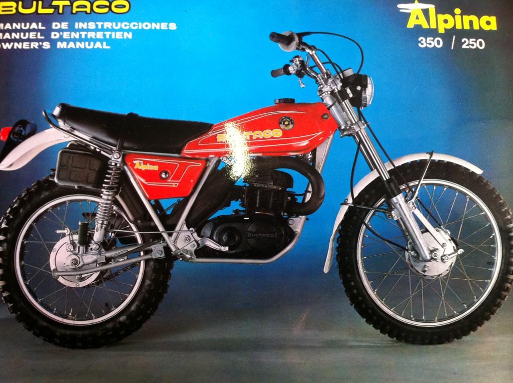 Bultaco Alpina 350/250