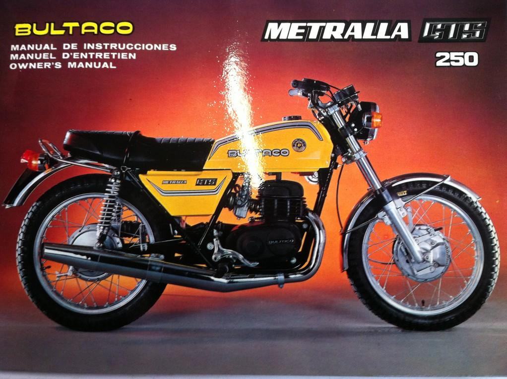 Bultaco Metralla GTS 250