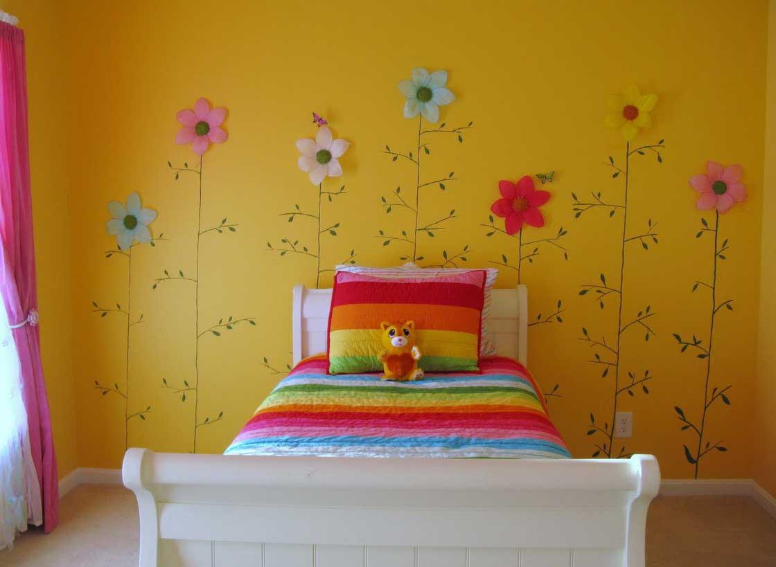 Interior Design Wall painting - Making Children Books