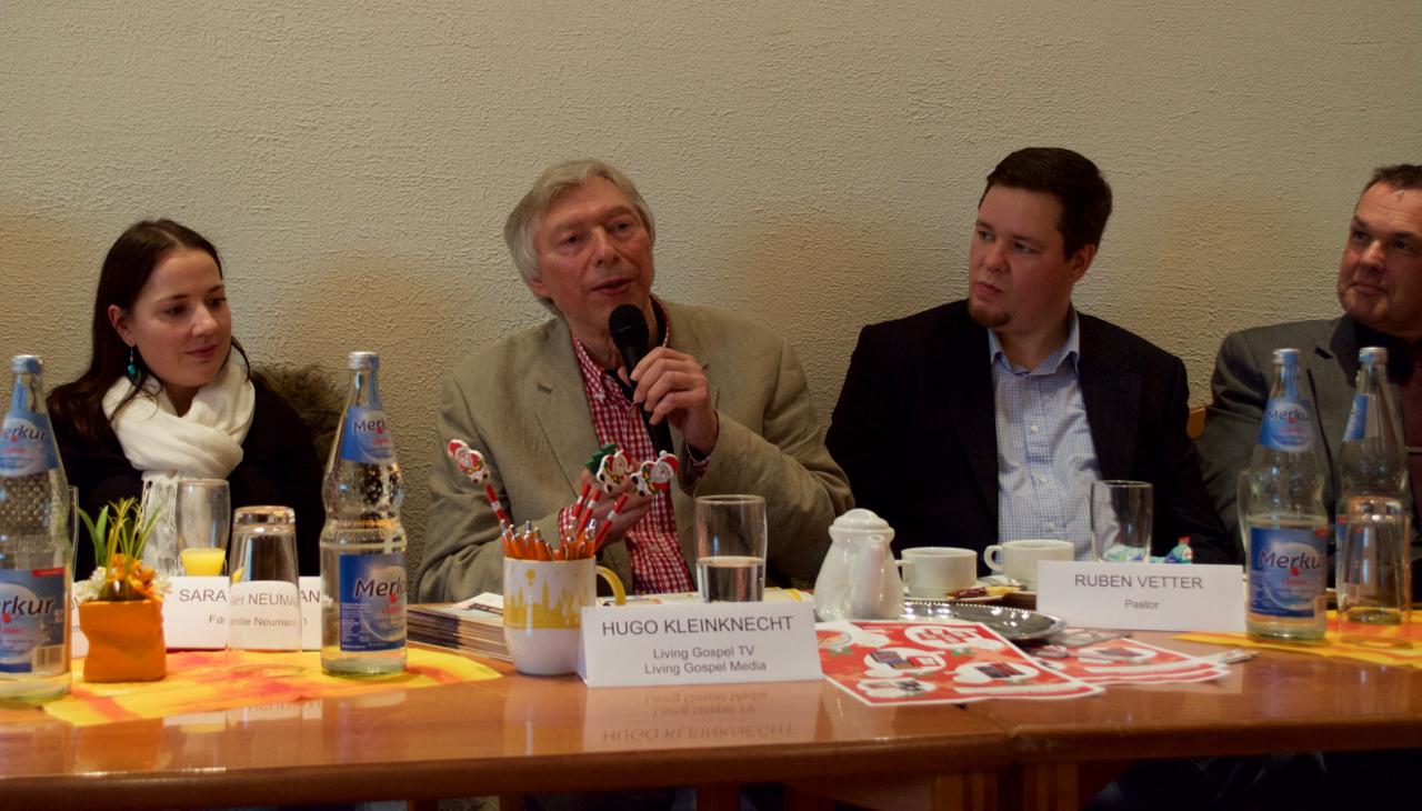 Hugo Kleinknecht mit Ruben Vetter, Gründer CeN (Christ empowered Nations)