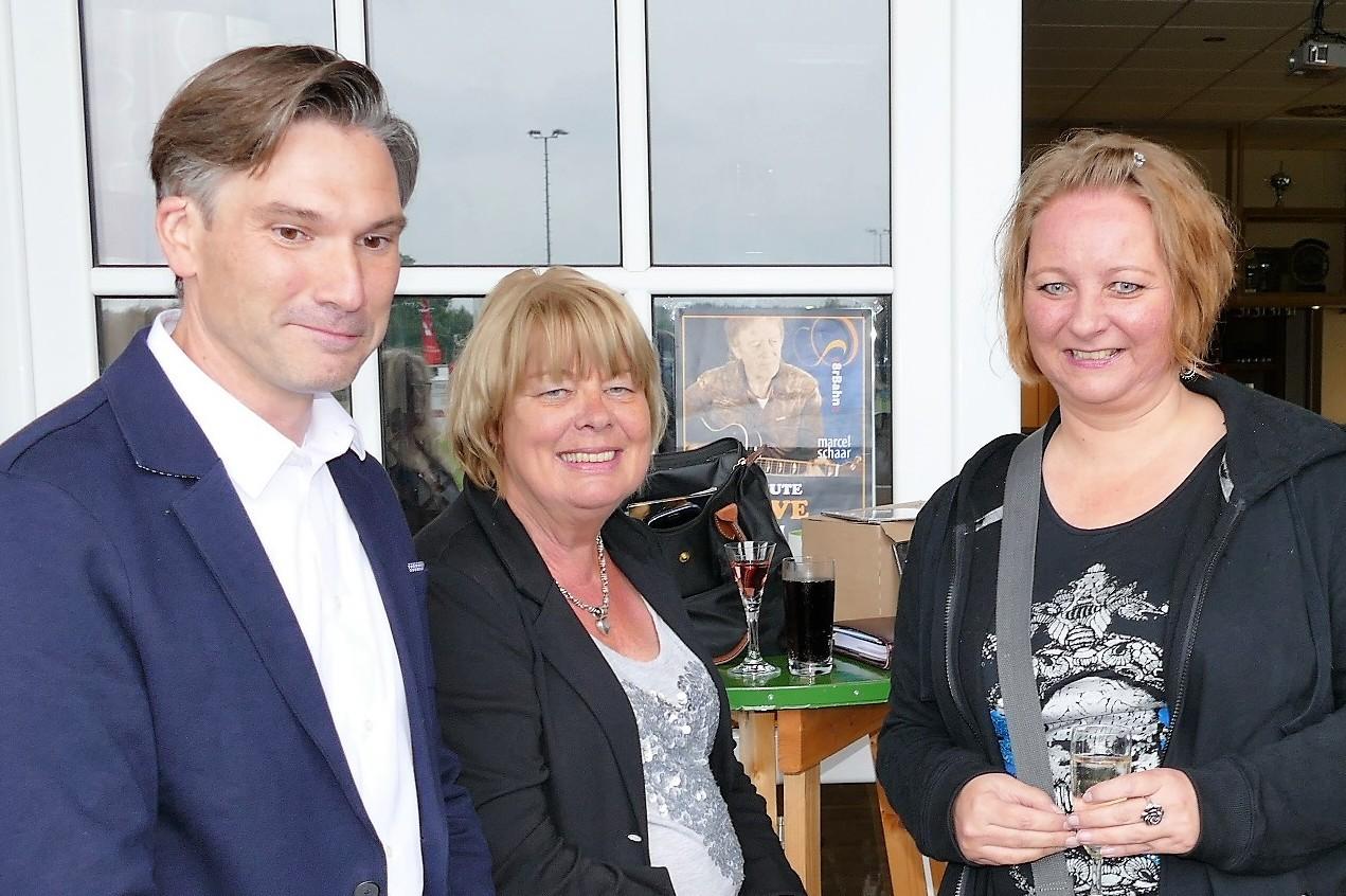... gemeinsam mit Thomas Goltz (SPD), Schirmherr des NEU WULMSTORFER SOMMER -SALONS 2017