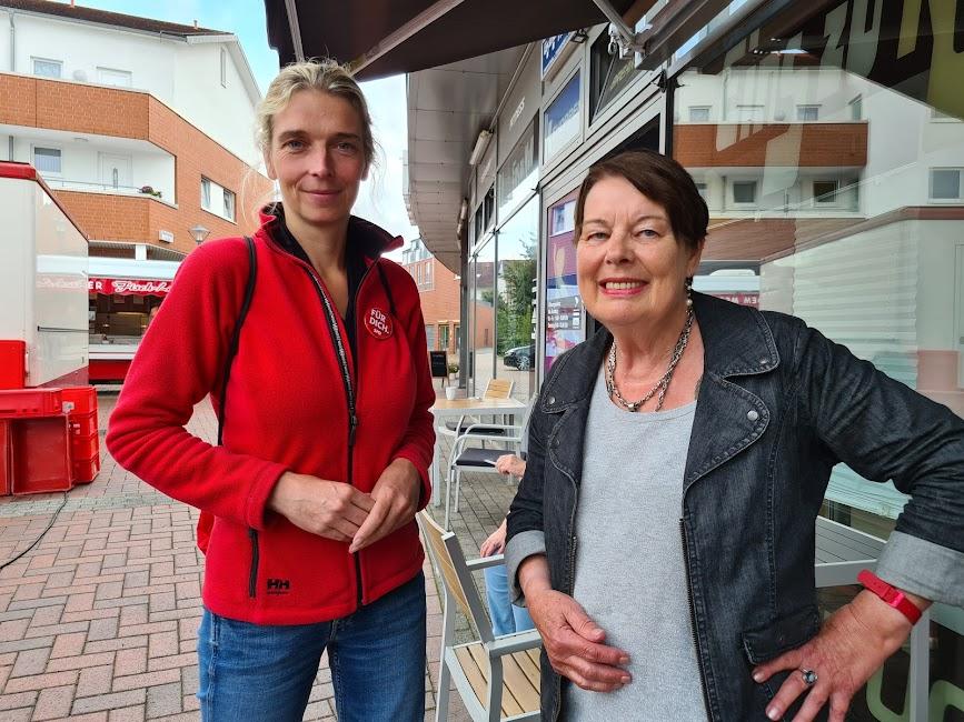 Netzwerk Norddeutschland im Gespräch mit Svenja Stadler (li., SPD)