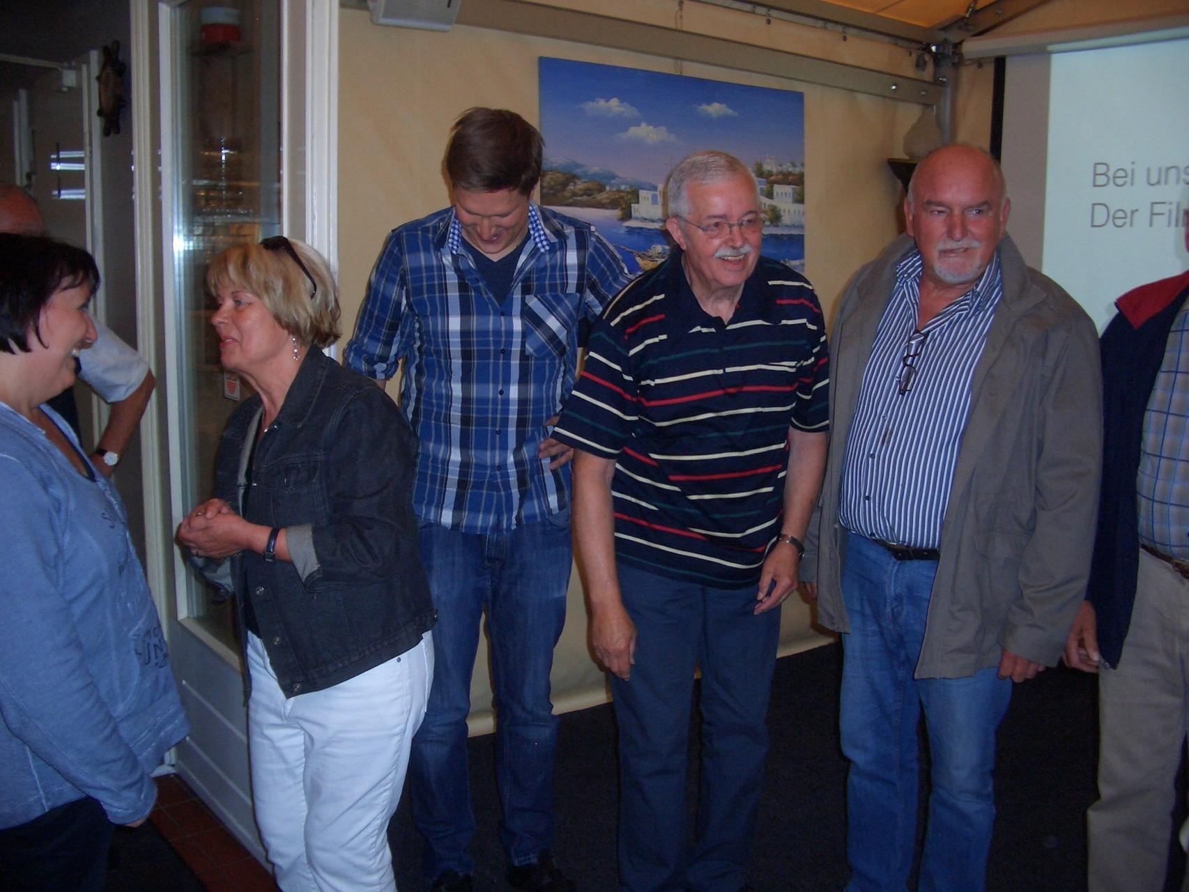 ... Rosemarie Fagaschewski, Manfred Menz und Hans Wöbcke