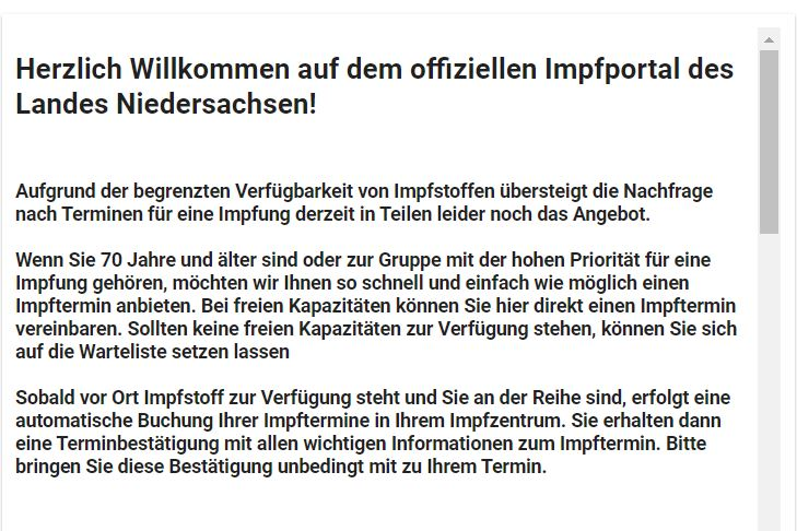 www.impfportal-niedersachsen.de