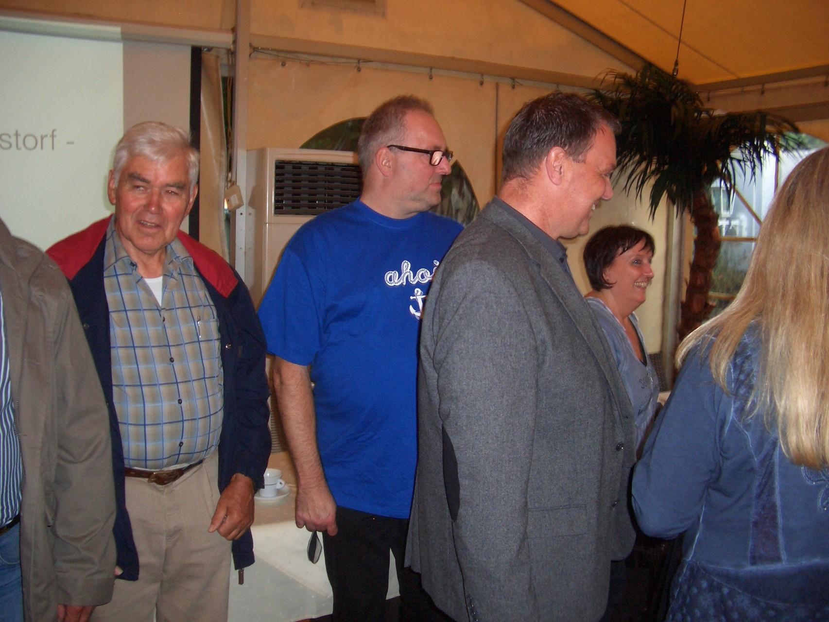 ... Heino von Eitzen und Marcus Garcia Holthusen