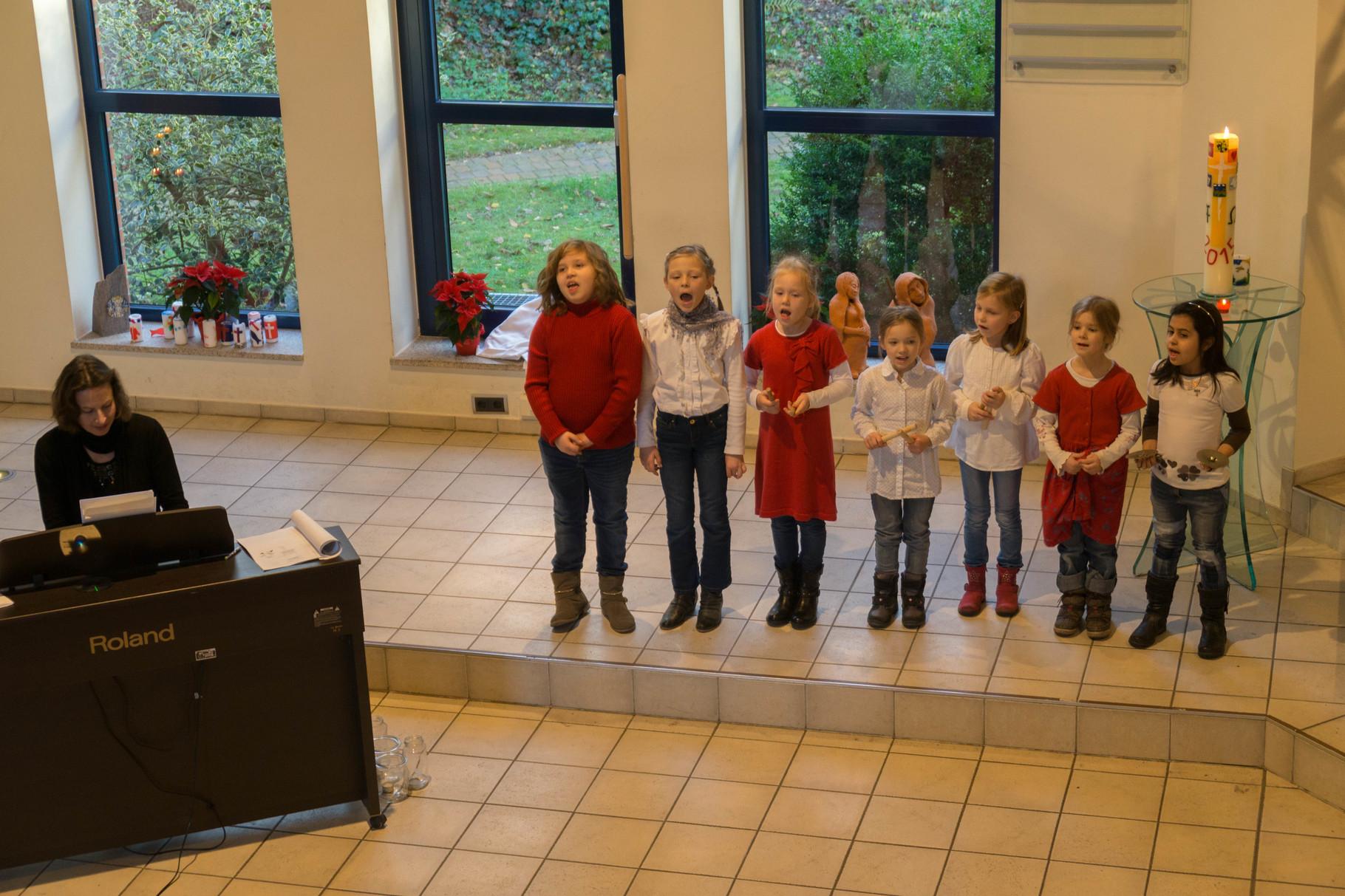 Der Kinder-Chor der Lutherkirche