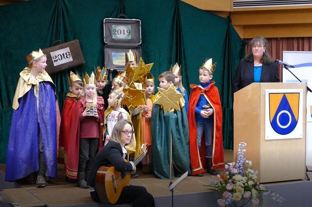 Schon traditionell beim Neu Wulmstorfer Neujahrsempfang: Der Auftritt ...