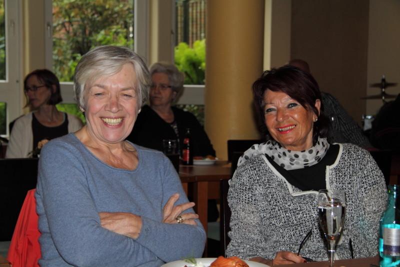 Astrid Greuner und Marianne Clementi