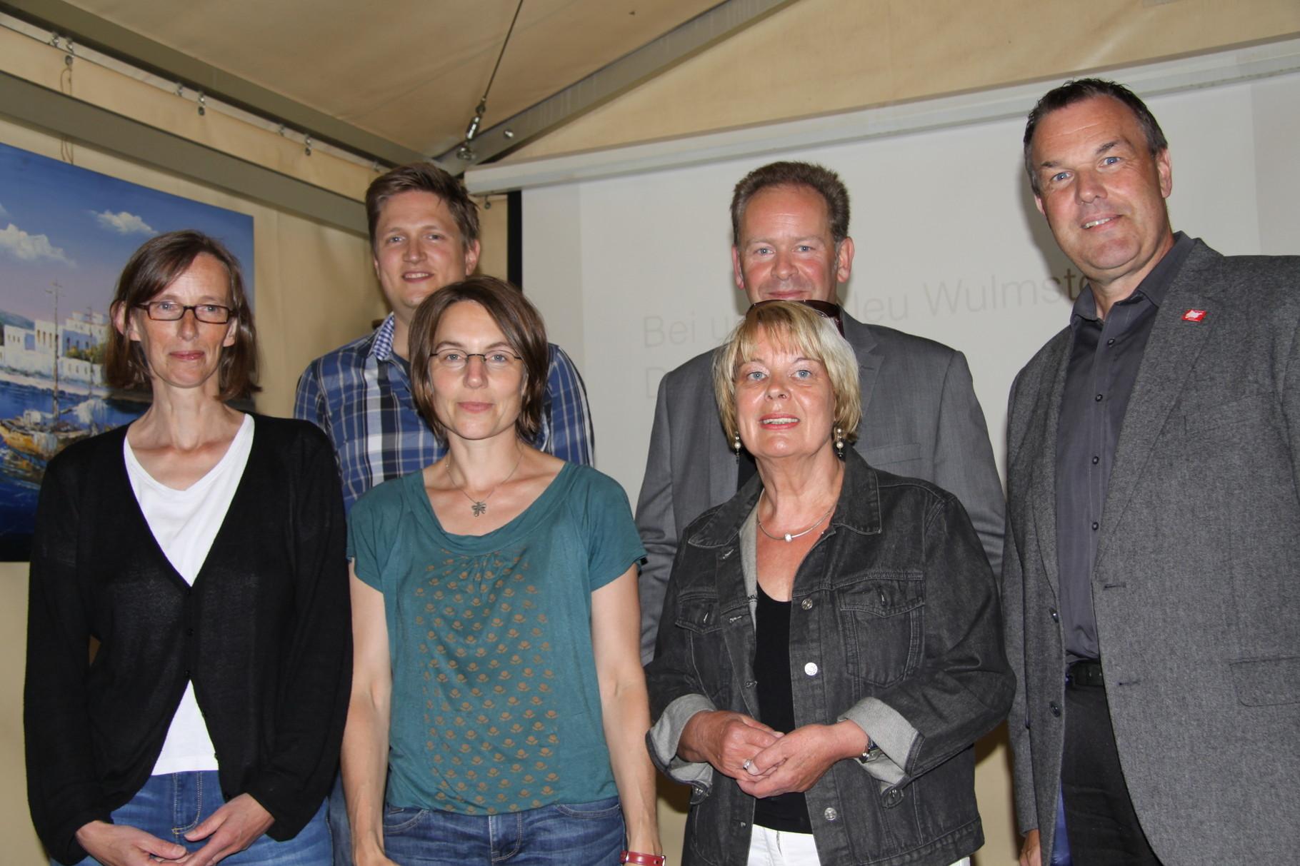 ... ...Hannelore Schade und Cornelia Meyer vom Flüchtlings-Netzwerk