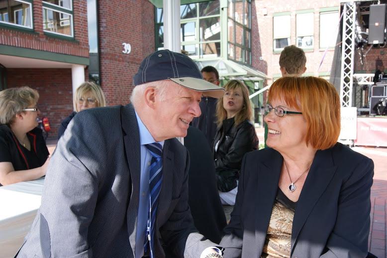 Ein nettes Gespräch mit FDP-Spitzenmann Manfred Karthoff