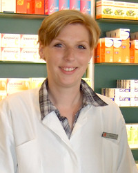 Kristina Möller, Apothekerin