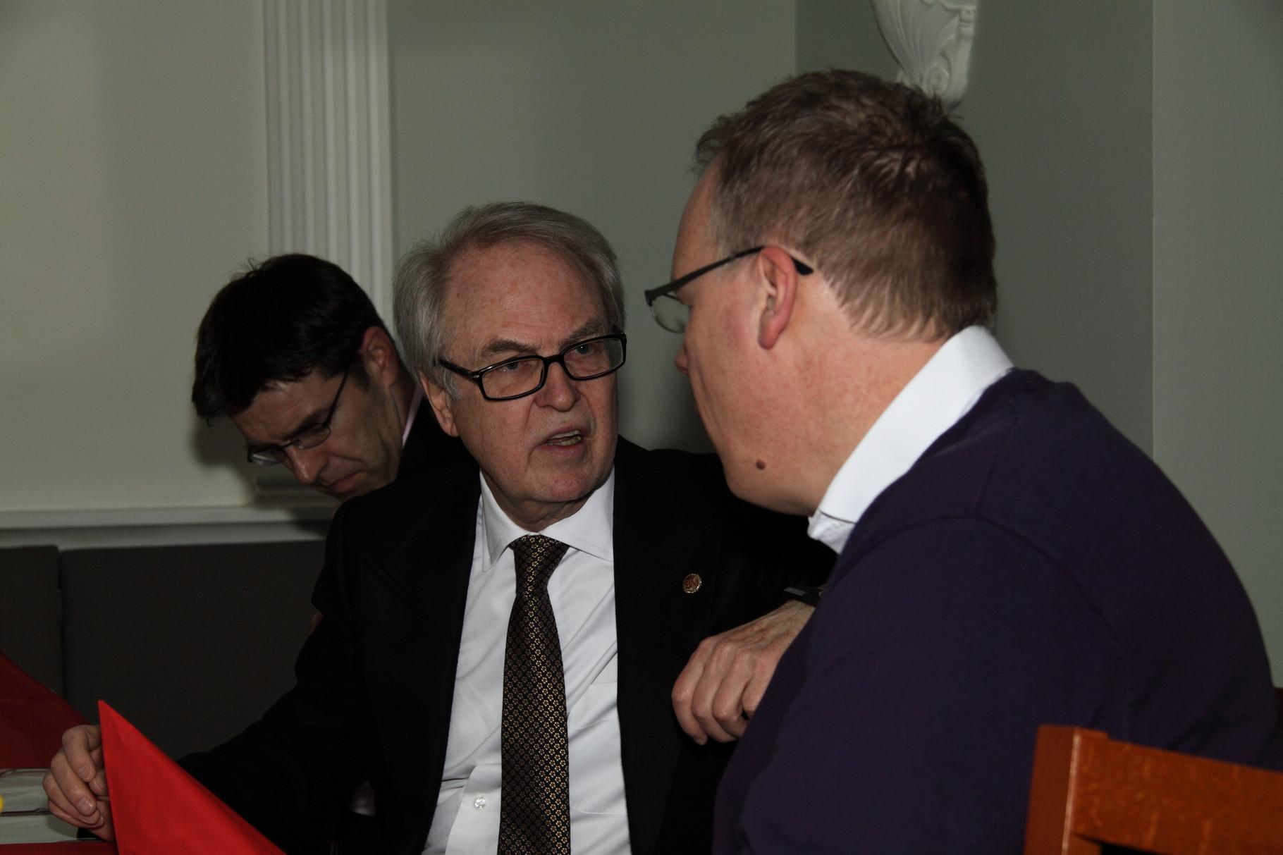 Wilfried Kohrs/ BNI Bremen im Gespräch mit Thomas Grambow