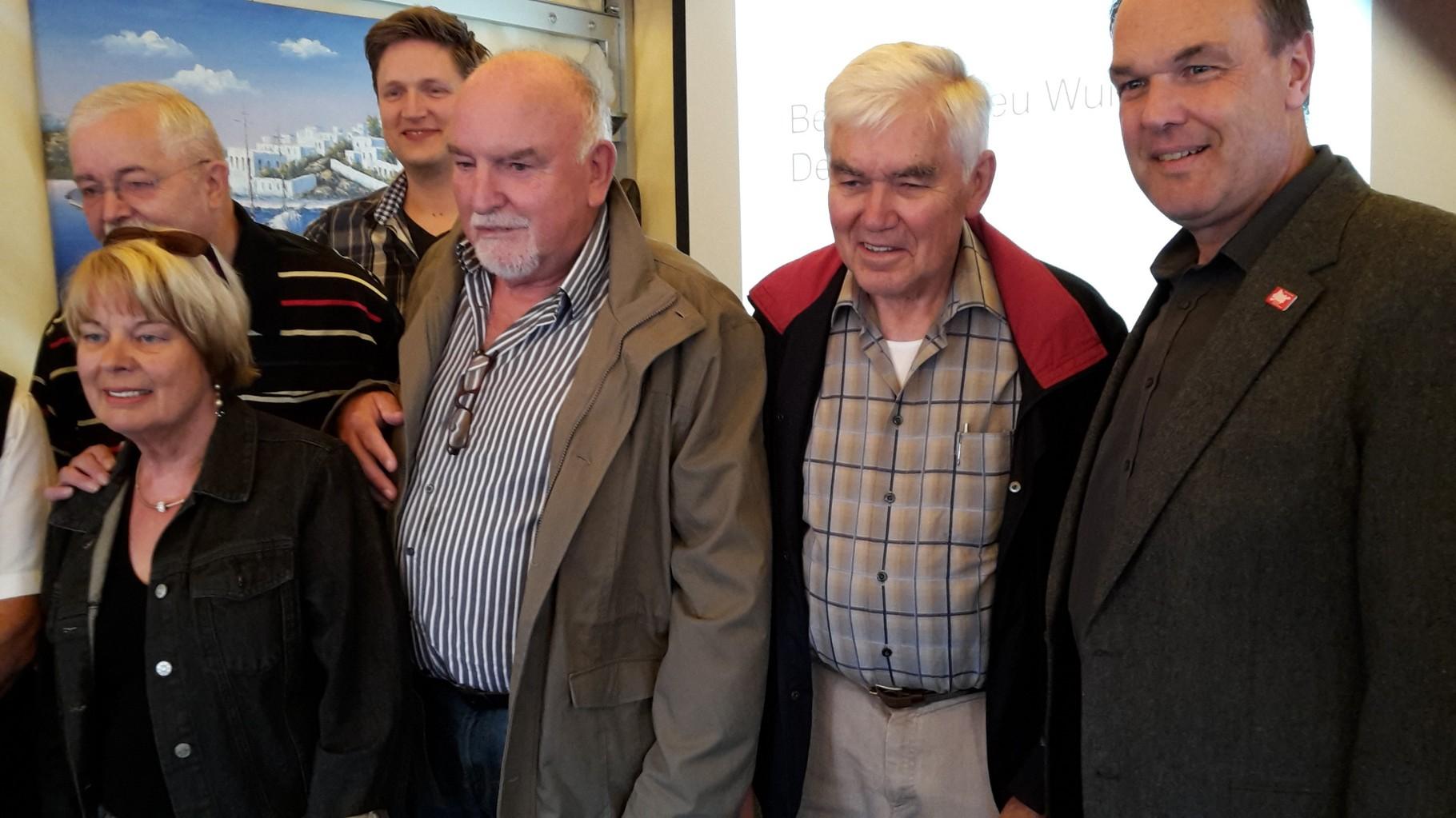 ... Hans Wöbcke und Heino von Eitzen