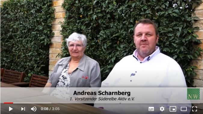 Andreas Scharnberg + Ilona Baule, SÜDERELBE AKTIV e.V, HH-Neugraben