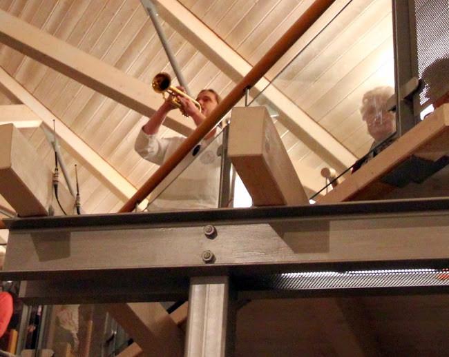 """Ebefalls zu Gast bei den """"DE WINDJAMMERS"""": Trompeter Marcus Hector"""
