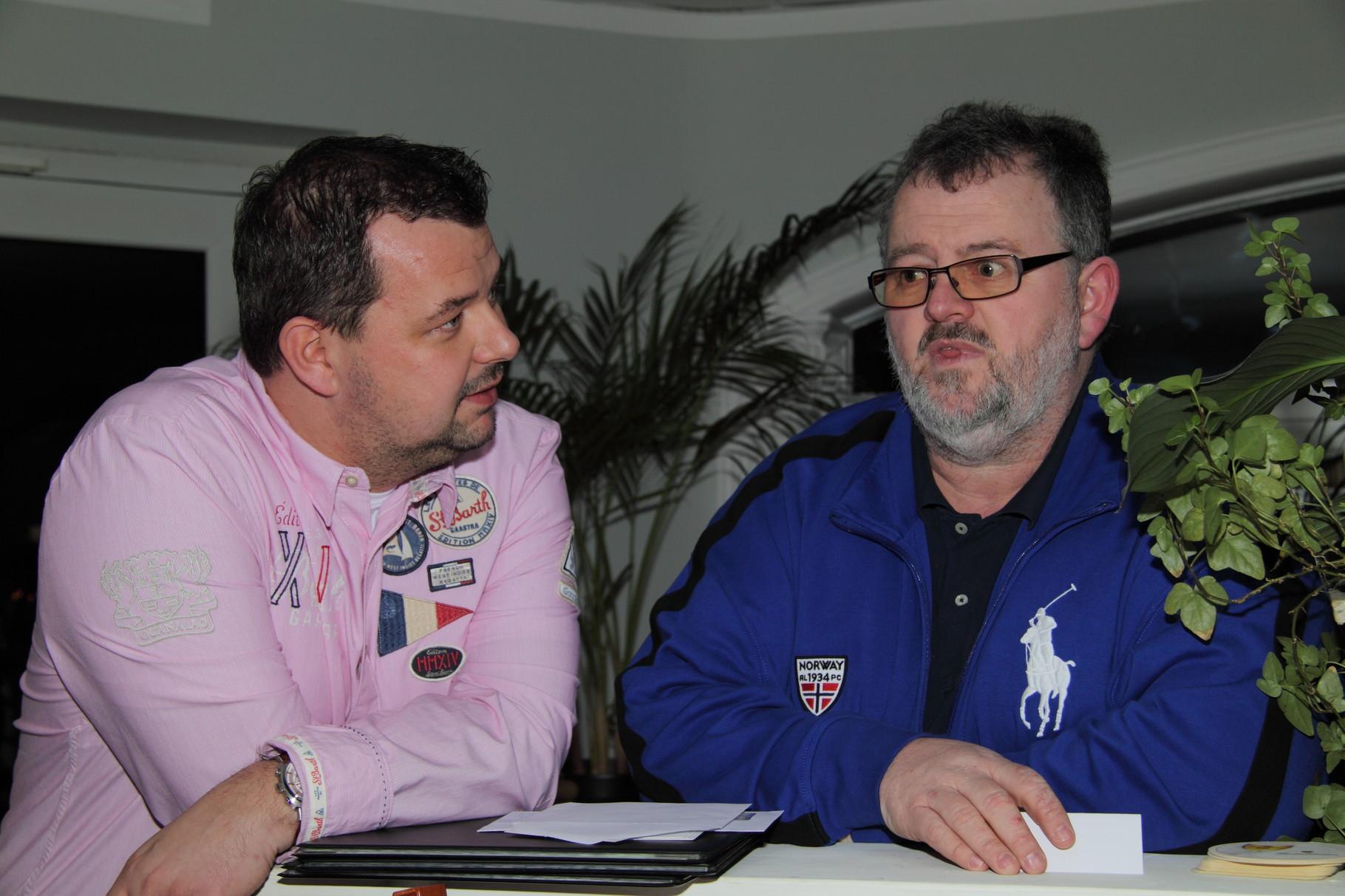 Spendengespräche: Steffen Kilian/Kilian - Solar-Heizung-Sanitär und Malermeister Dirk Ringel