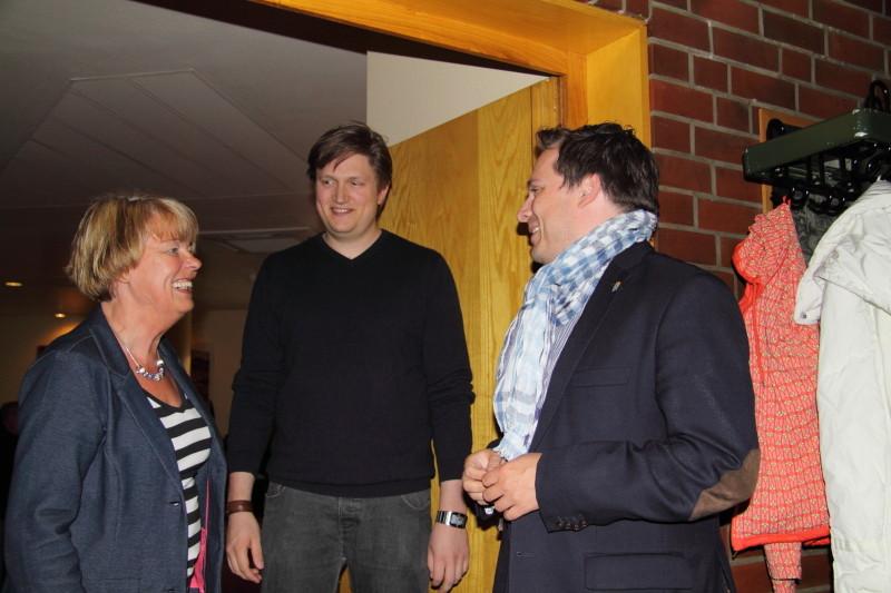 Sylvia Karasch, Hannes Wirtz und Michael Krüger