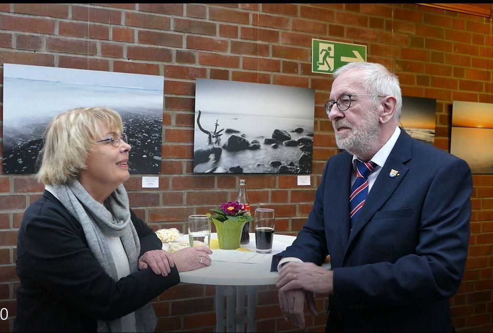 ... Wolf-Egbert Rosenzweig (SPD), Bürgermeister der Gemeinde Neu Wulmstorf
