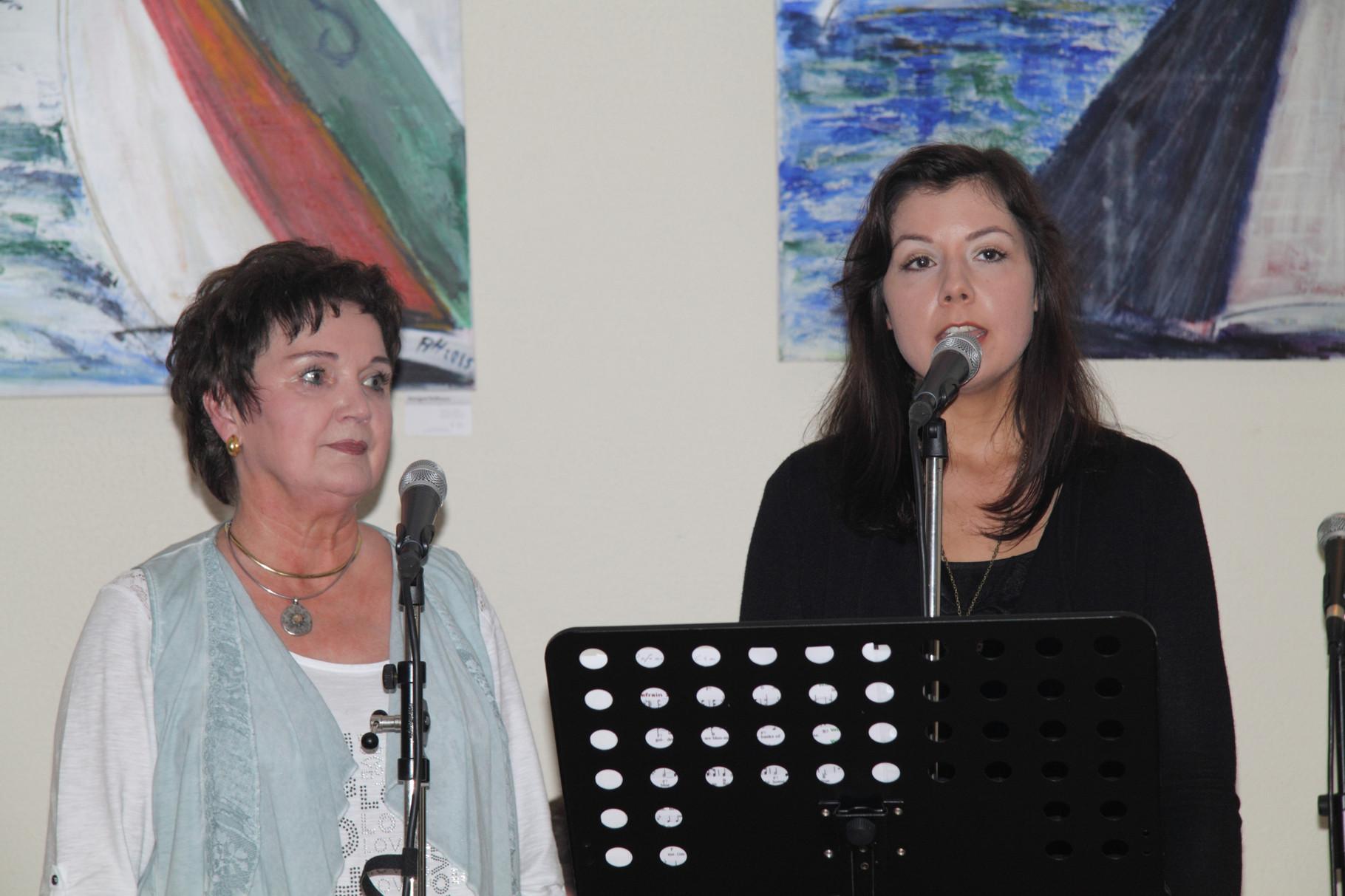 Helgrid und Judith Neumann im Duo