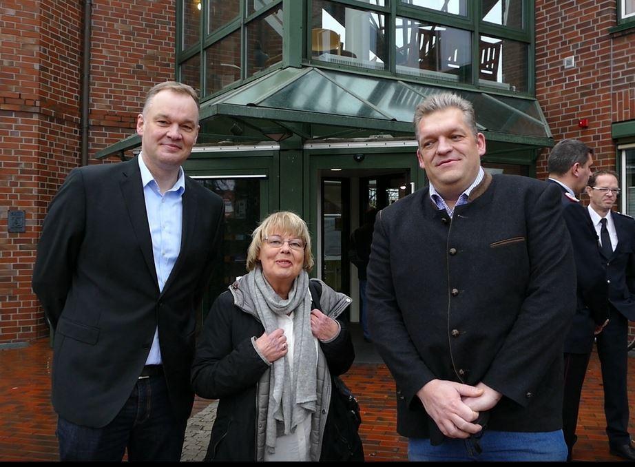 ... die CDU-Politiker Malte Kanebley (li.) und Christian Horend