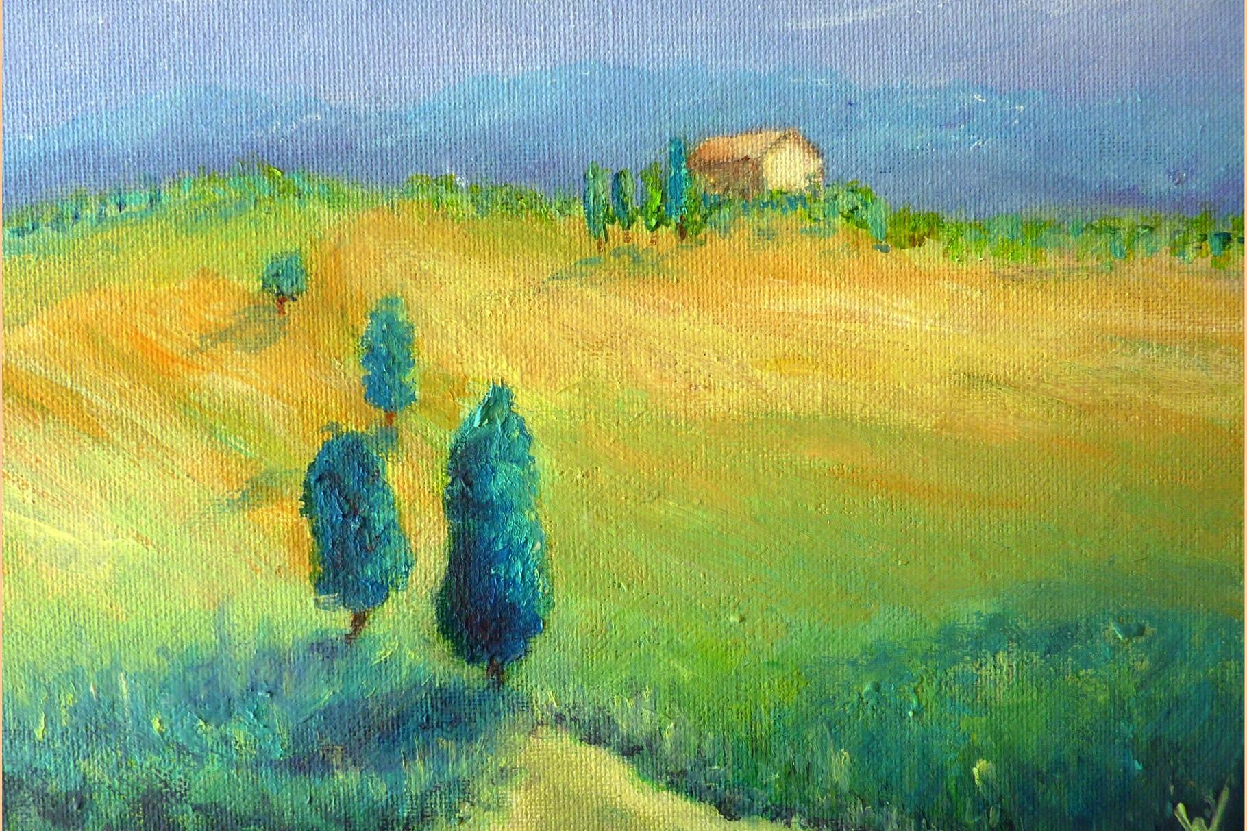 .-. Mediterrane Landschaft
