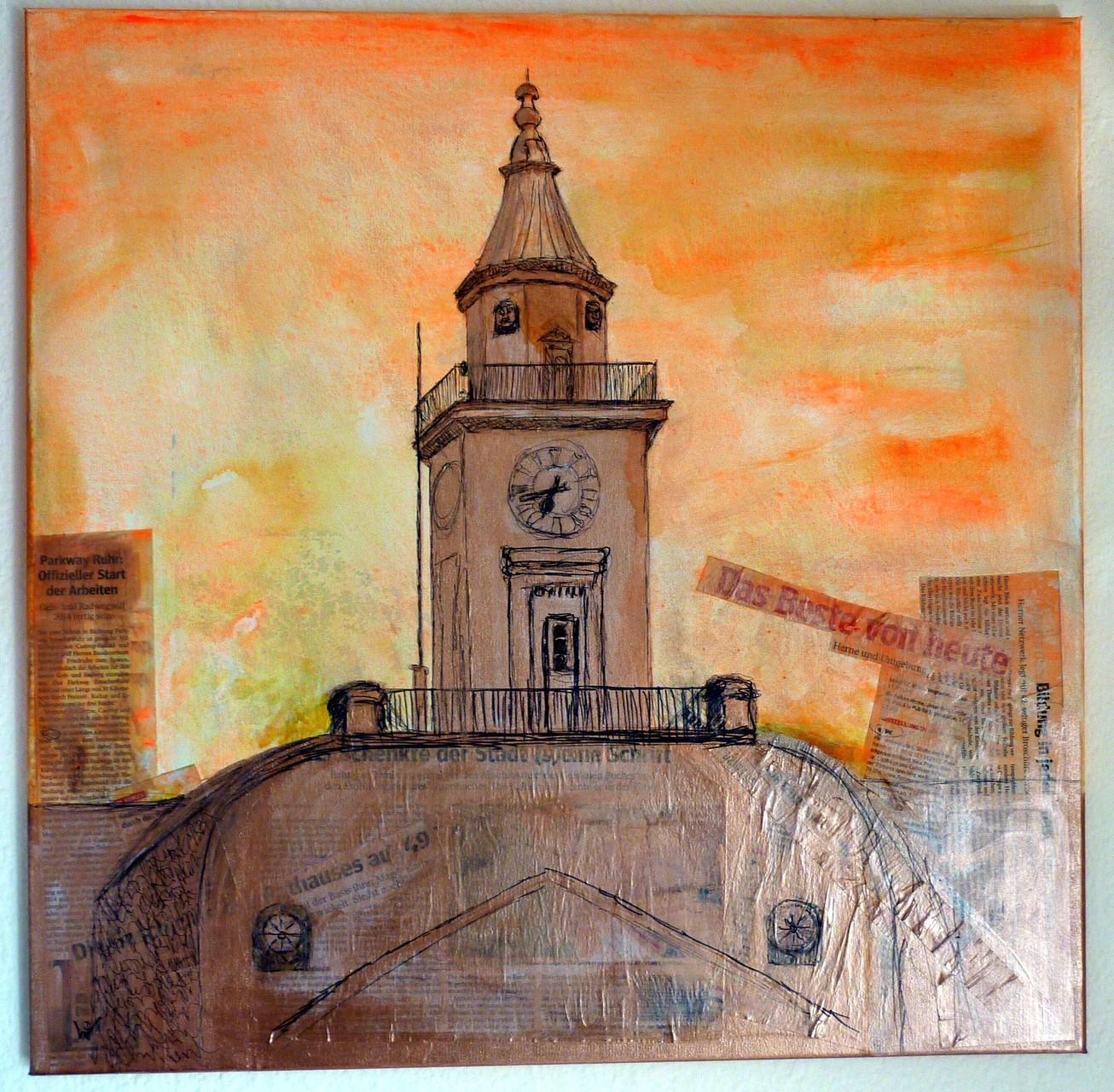 .-. Turm mit Aussicht des Rathauses