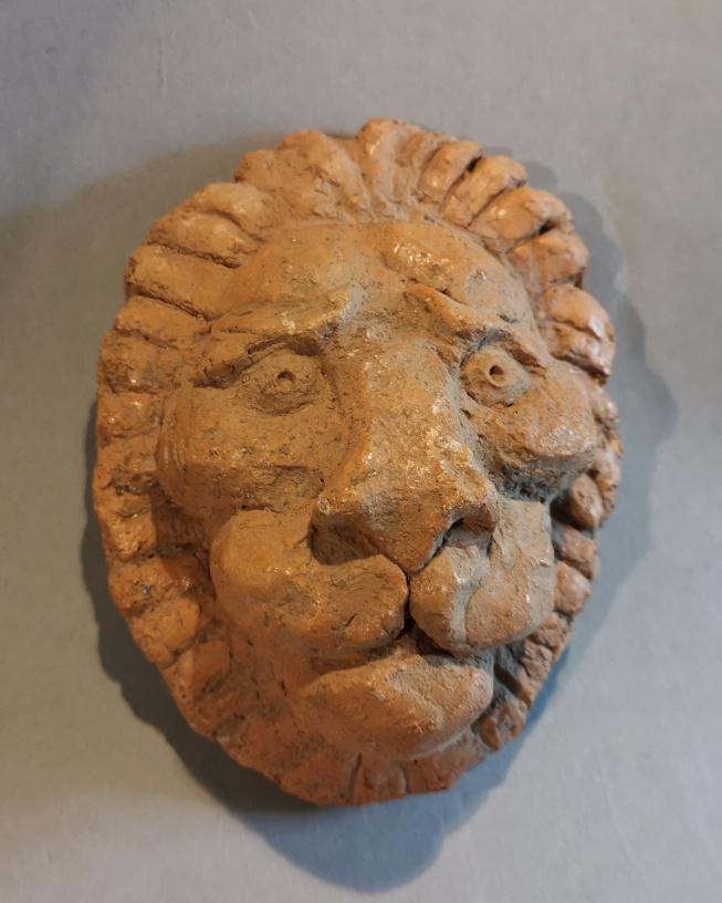 Löwenhaupt, Ton, Schellack, 20×15cm, 1991