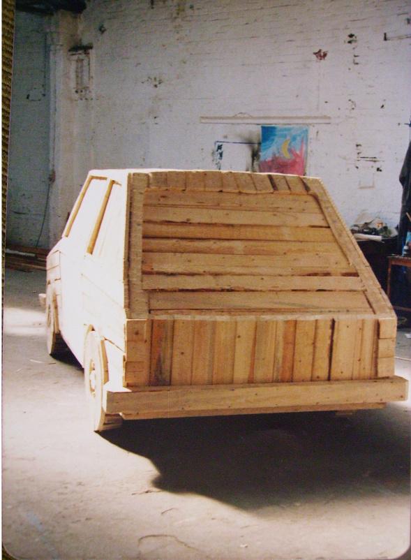 Holzauto, John, Smicek, Weiler, 1985