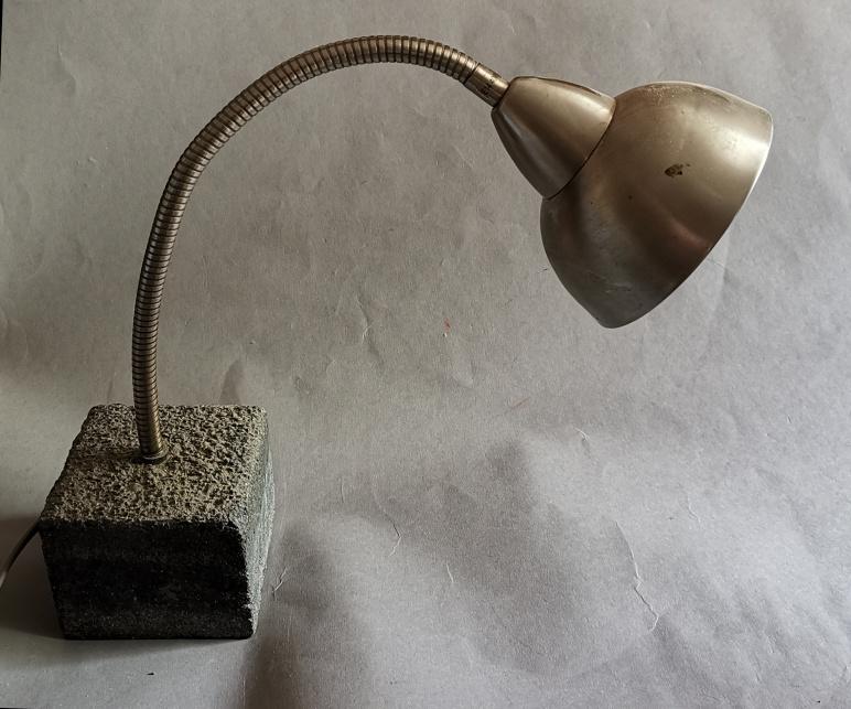 Lampe, Beton, Stahl, 2013