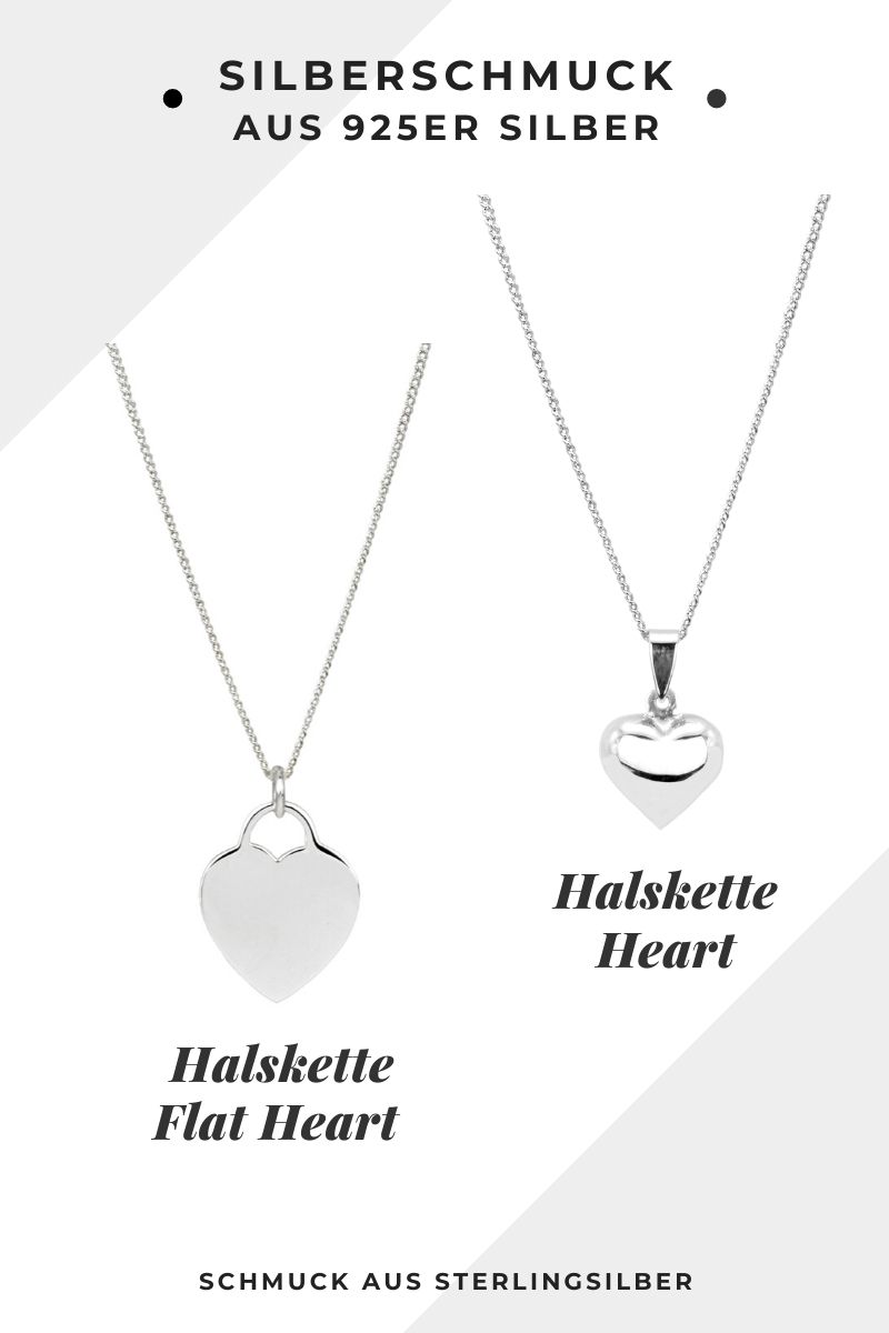 Halsketten aus Sterlingsilber