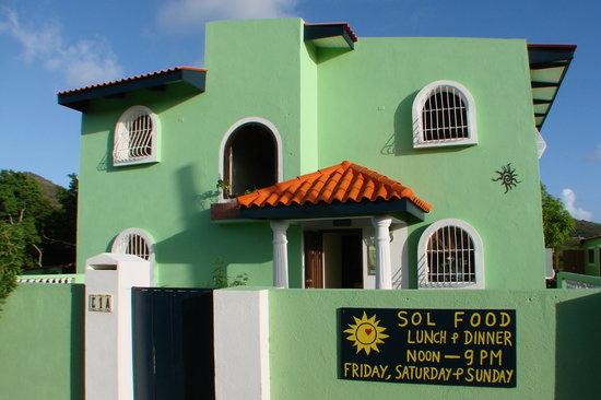 Essen und Trinken - Solfood - Urlaub auf Curcacao