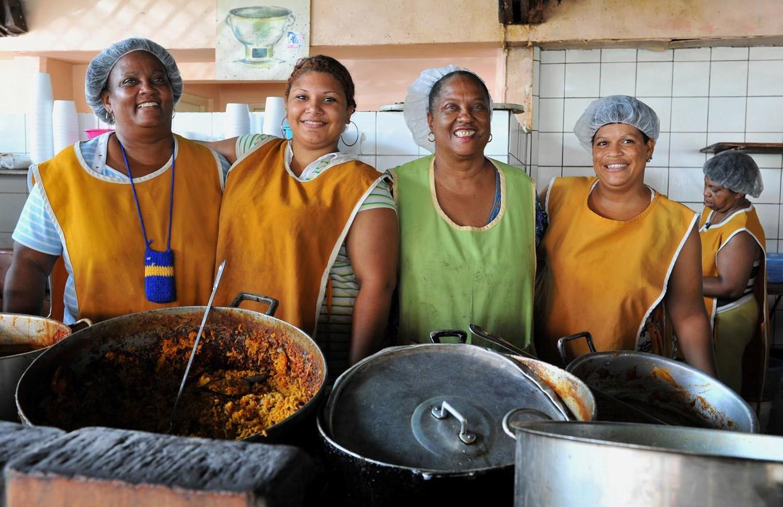 Essen und Trinken - Marché bieu Urlaub auf Curacao