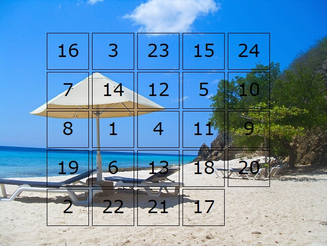 Adventskalender - Urlaub Curacao