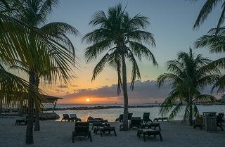 www.urlaub-auf-curacao.net - Sonnenuntergang