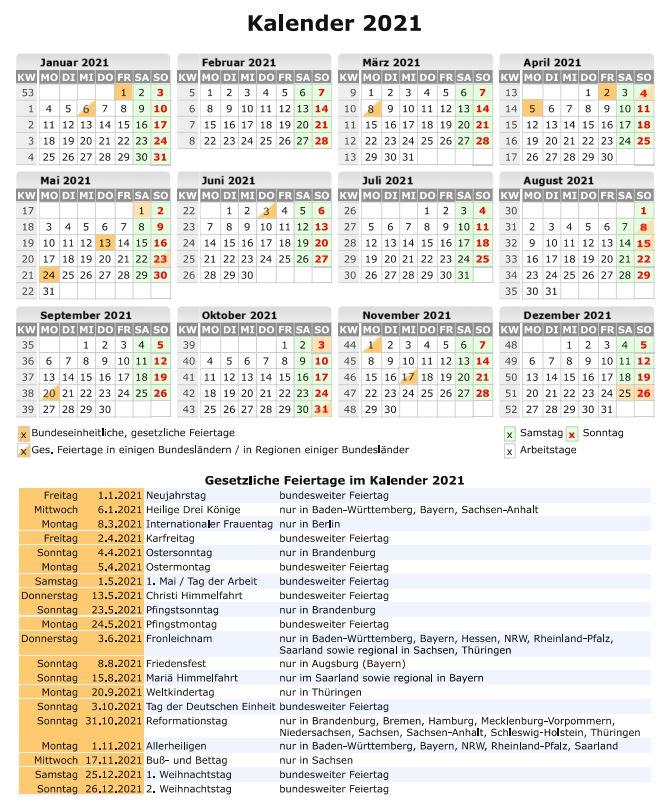 Brückentage-2021-Ferienkalender-Urlaub-Curacao