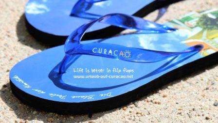 Flip - flops Urlaub auf Curacao