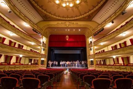 Interior Teatro Guimerá - Santa Cruz de Tenerife
