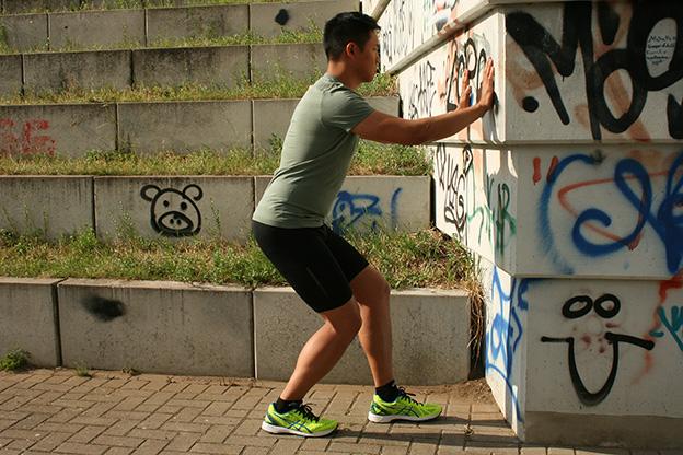 Dr. Matthias Marquardt, MARQUARDT RUNNING Athletik-Uebung: Wadenmuskulatur 01