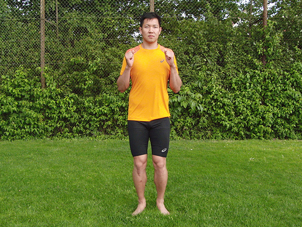 Dr. Matthias Marquardt, MARQUARDT RUNNING Athletik-Uebung: Kaesekaestchen 01