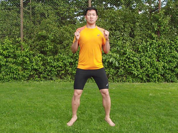 Dr. Matthias Marquardt, MARQUARDT RUNNING Athletik-Uebung: Kaesekaestchen 02