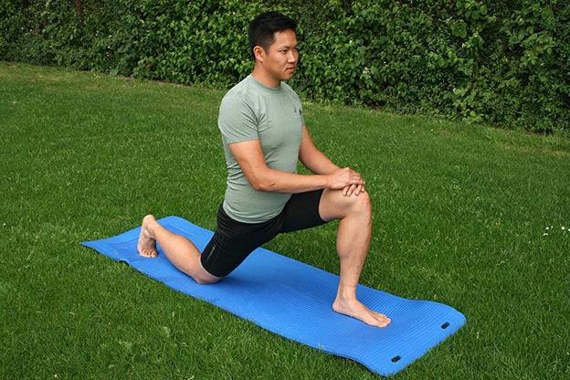 Dr. Matthias Marquardt, MARQUARDT RUNNING Athletik-Uebung: Hueftlendenmuskel